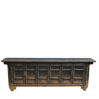 Chinese Compartment Entertainment Sideboard Cabinet For Sale