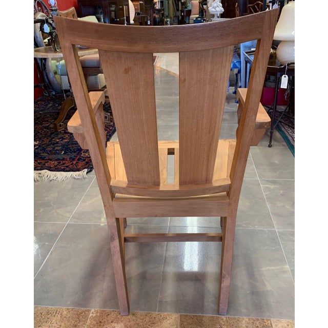 John Hutton 1990s Vintage Sutherland Matisse Teak Dining Chairs- A Pair For Sale - Image 4 of 13