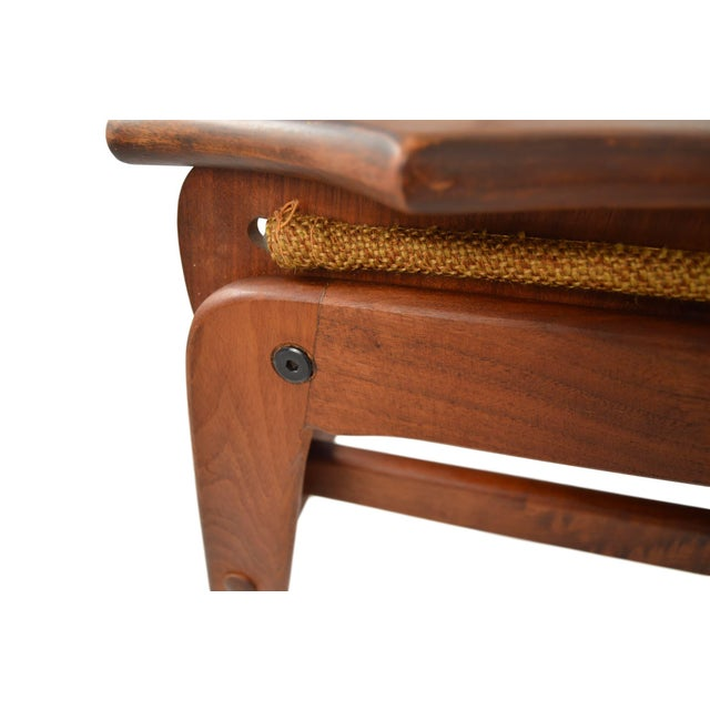 Mid Century Modern Sling Chair By Jerry Johnson - Image 4 of 7