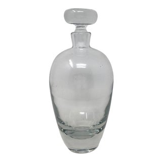 Mid-20th Century Crystal Decanter For Sale
