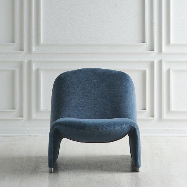 1980s Pair of Alky Chairs by Giancarlo Piretti For Sale - Image 5 of 13
