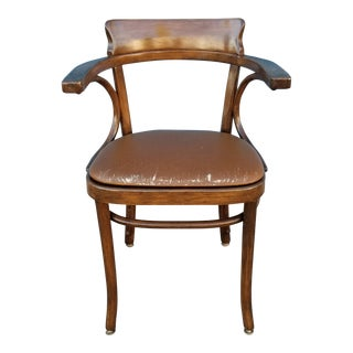 Vintage Mid-Century Thonet Bentwood Chair For Sale