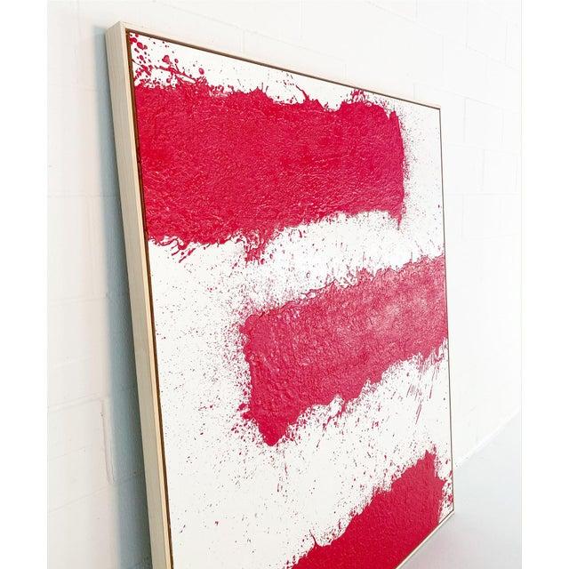 2020s John O'Hara, Tar, T3, Encaustic Painting For Sale - Image 5 of 11
