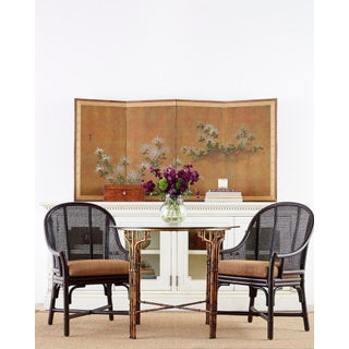 McGuire Rattan Cane Belden Dining Chairs - Set of 10 Preview