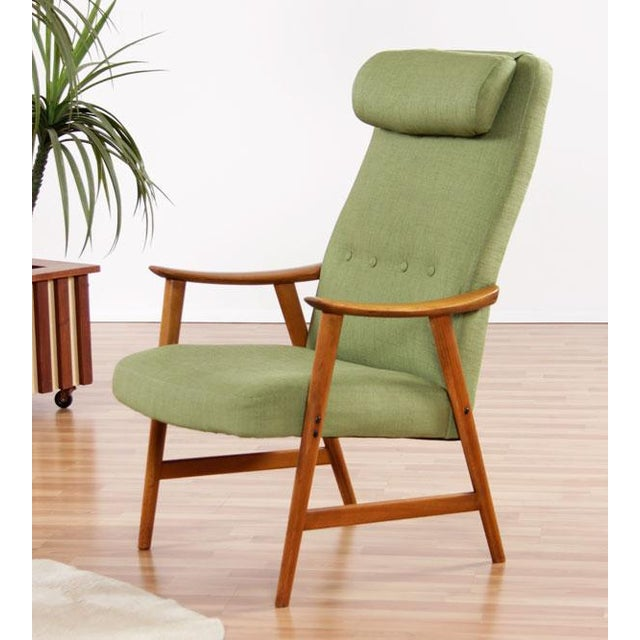 Mid-Century Modern Dokka Mobler Restored Arm Chair - Image 2 of 10