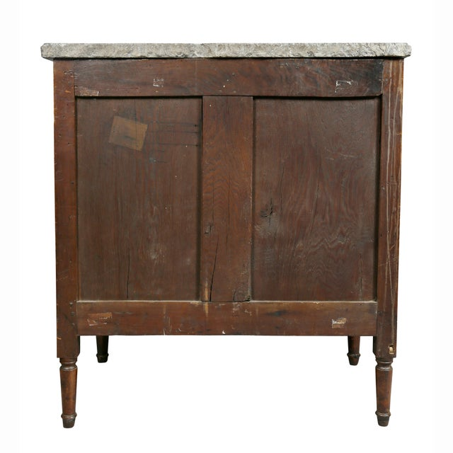 Louis XVI Provincial Walnut Commode For Sale - Image 9 of 10