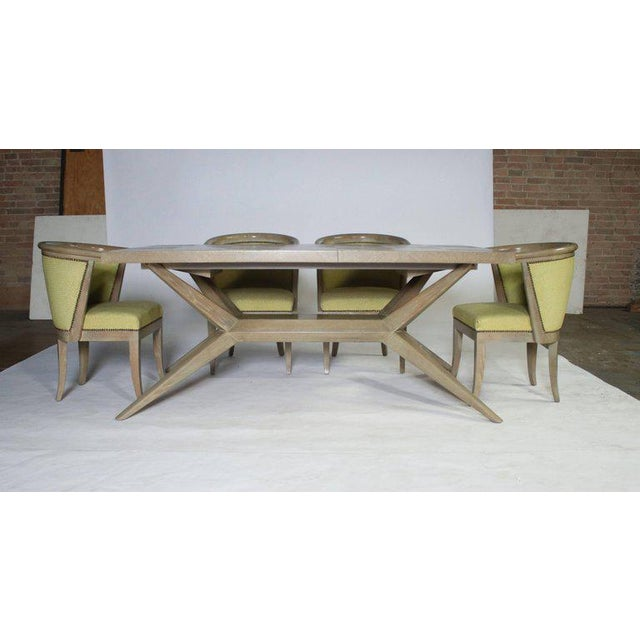 Brown Harold Schwartz for Romweber M-748 Dining Table For Sale - Image 8 of 9