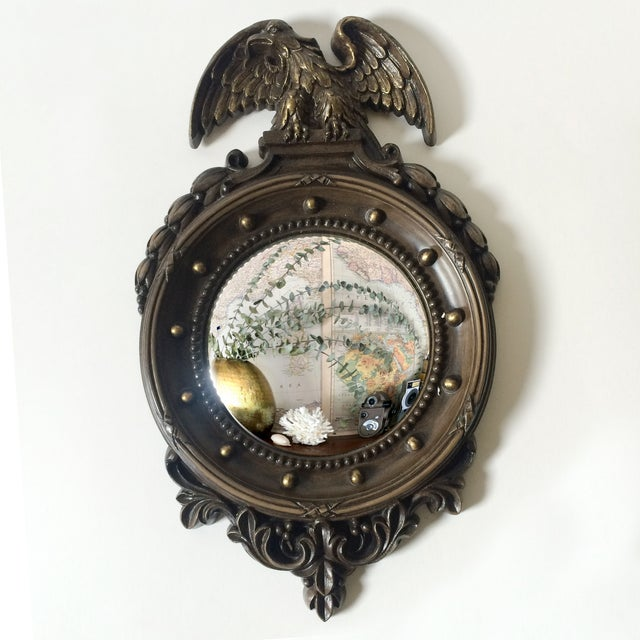 Federal Style Small Convex Mirror - Image 2 of 6