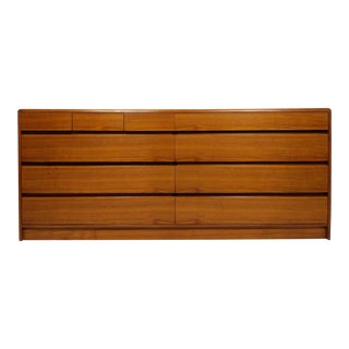 Mid Century Danish Dresser, Credenza or Media Console by Nordisk For Sale