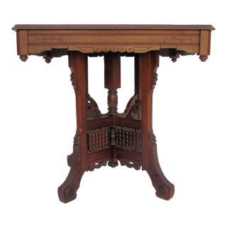 Antique Moroccan Center Table For Sale