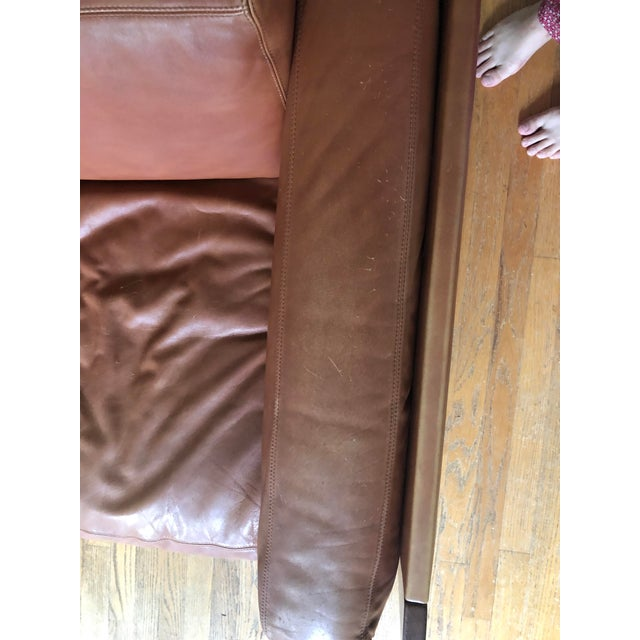 Mid Century Modern Tobia and Afra Scarpa for Gavina 920 Italian Leather Rosewood Sofas - a Pair For Sale - Image 10 of 12