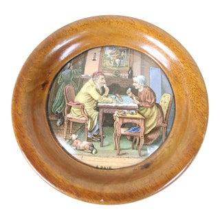 English Framed Pot Lid For Sale
