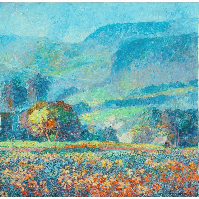 Impressionist Landscape Oil Painting For Sale