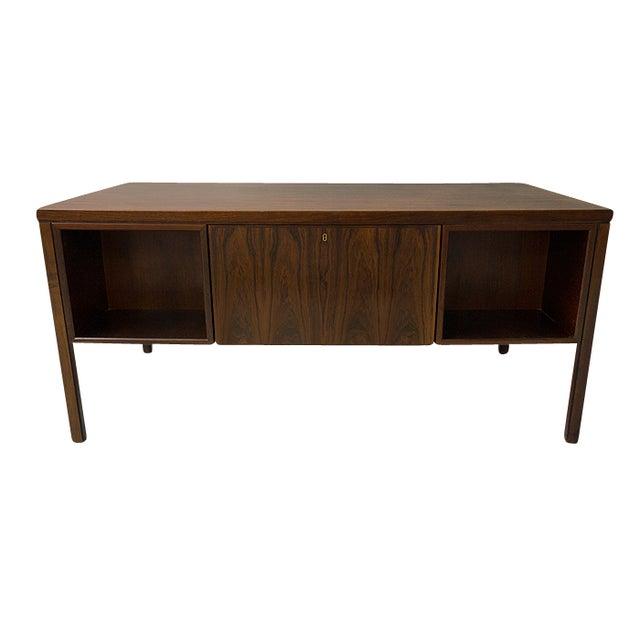 Danish Rosewood Desk by Gunni Omann - Image 3 of 9