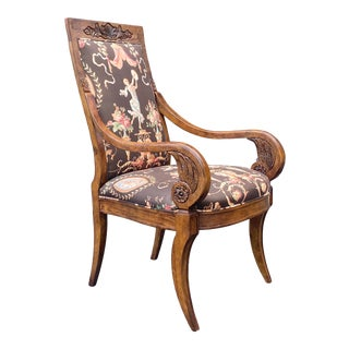 Thronos Arm Chair by Century Furniture For Sale