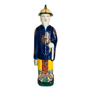 Late 20th Century Male Figurine For Sale
