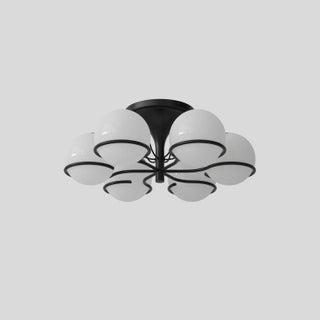 Gino Sarfatti Black Ceiling Light Preview