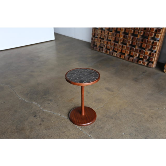 Ceramic Tile Top Occasional Table by Gordon Martz For Sale In Los Angeles - Image 6 of 6