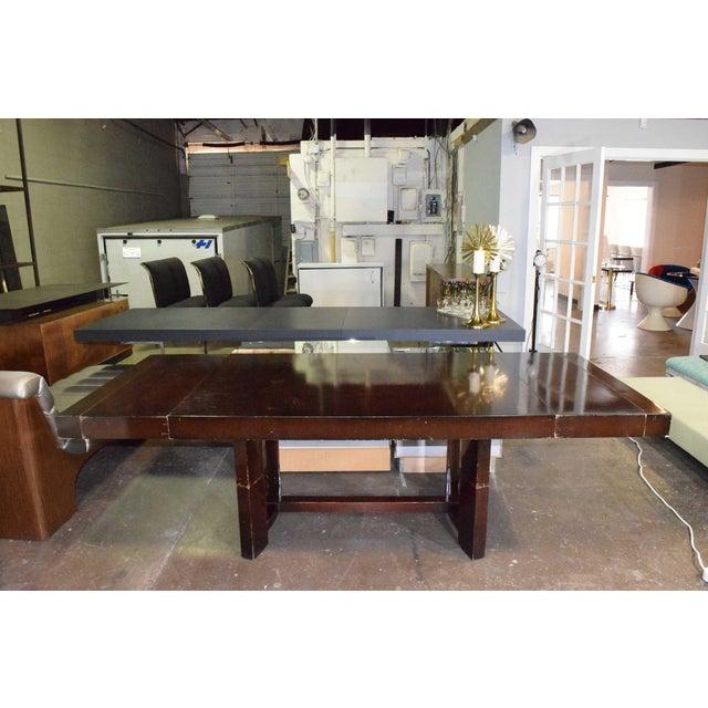 Brown Robsjohn-Gibbings for Widdicomb Dining Table For Sale - Image 8 of 8