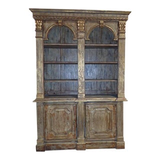 Vintage Louis XVI Style Bookcase For Sale