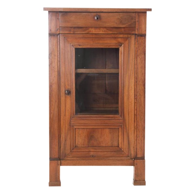 French 19th Century Walnut Vitrine - Image 1 of 10