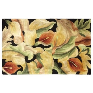 "Colorful Floral Rug - 3'3"" X 4'6"" For Sale"