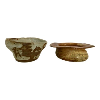 Two Signed Studio Pottery Pieces