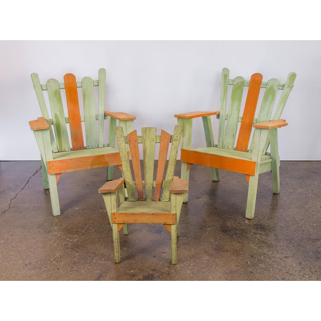 Family Set of Adirondack Chairs - Image 2 of 11