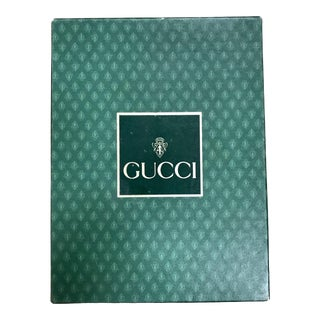 1980s Vintage Gucci Agenda Phone/Address Notebook For Sale
