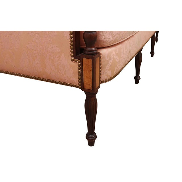 1960s 1960's Vintage Hickory Chair Furniture Company Sheraton Style Settee For Sale - Image 5 of 7
