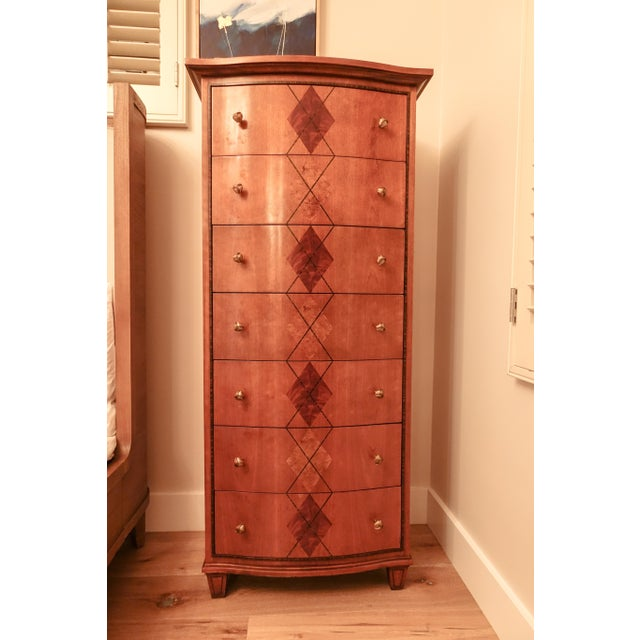 Beautiful Jonathan Charles 7 Drawer Dresser by Alexander Julian for sale! Practically new and a favorite item but I moved...
