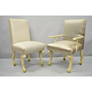 Late 20th Century Hoof Paw Foot Regency Dining Chairs- Set of 8 Preview