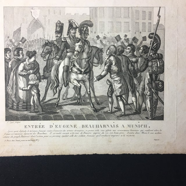 19th C. French Engraving - Image 4 of 7
