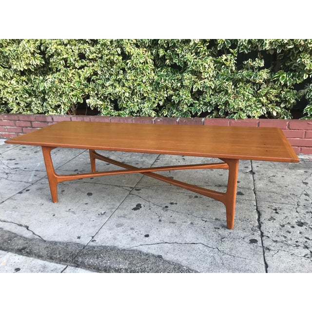 Mid-Century Modern Mid-Century Danish Coffee Table by Dux For Sale - Image 3 of 10