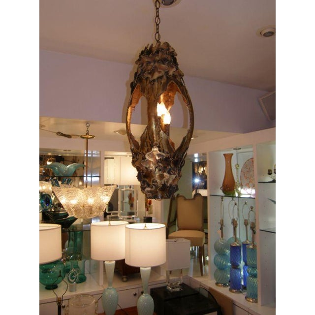 T.A. Greene Chandelier For Sale - Image 9 of 9
