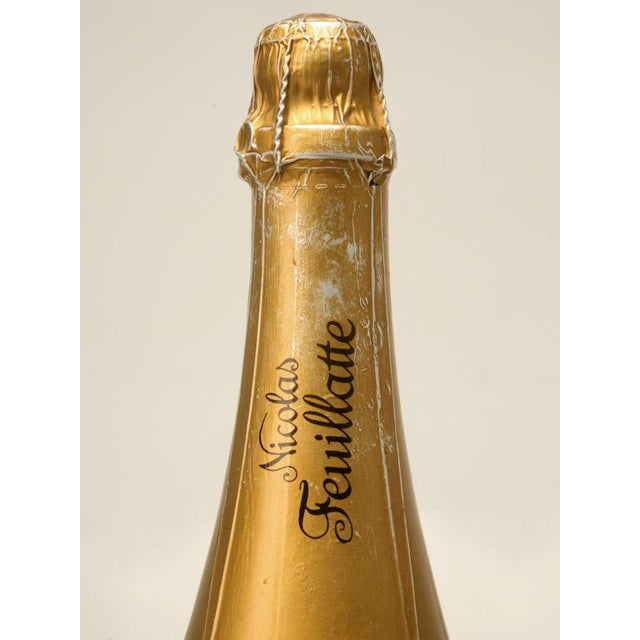 Set of 6 Nicolas Feuillatte Champagne Bottle Store Props - Image 6 of 10