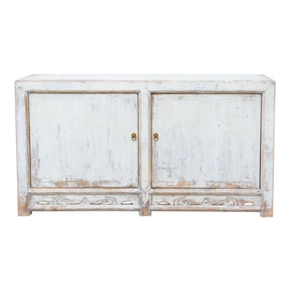 Shabby Chic Country Style White Cabinet For Sale