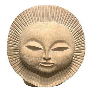 Sunburst Sculpture by Paul Bellardo, 1968 For Sale