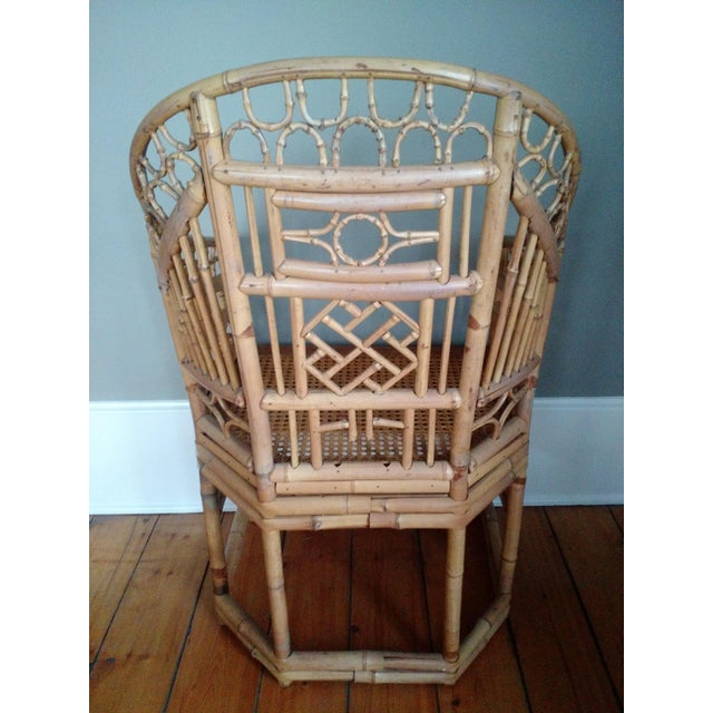 Brighton Pavilion Inspired Bamboo Chair - Image 4 of 7