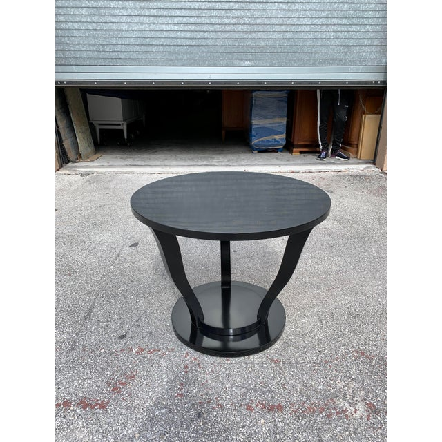1940s Vintage Classic French Art Deco Accent Table For Sale - Image 13 of 13