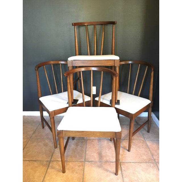 Danish Mid-Century Wishbone Style Chairs - Set of 4 - Image 7 of 7