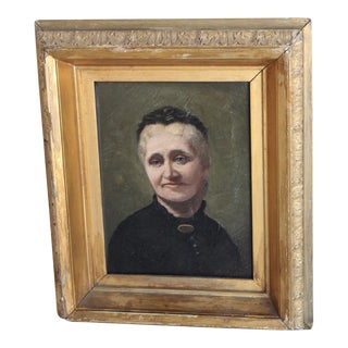 Antique Portrait of a Lady For Sale