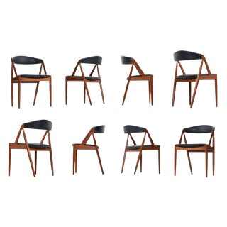 Kai Kristiansen #31 Danish Teak Dining Chairs Set of (8)