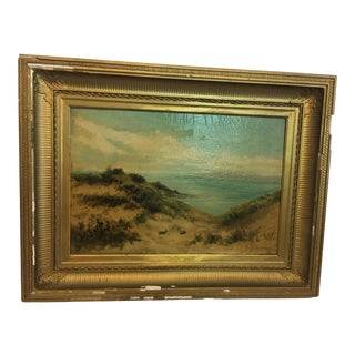 Early 20th Century Welsh Landscape Oil Painting by William Langley, Framed For Sale