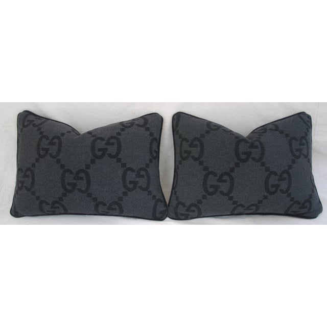 Gucci Cashmere & Mohair Pillows - Pair - Image 3 of 10