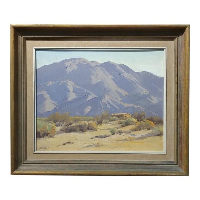 Darving Duncan - Beautiful California Desert Landscape-Impressionsit -oil Painting - Image 1 of 10