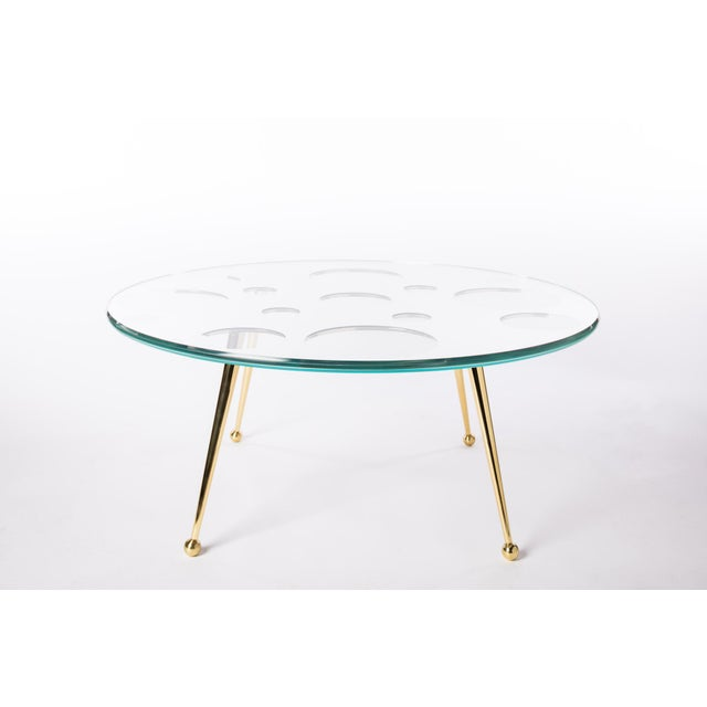 Brass Customizable HOLY MIRROR COFFEE TABLE For Sale - Image 7 of 8