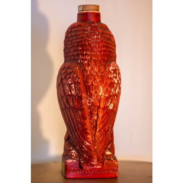 Double Springs Kentucky Bourbon Red Owl Decanter - Image 5 of 6