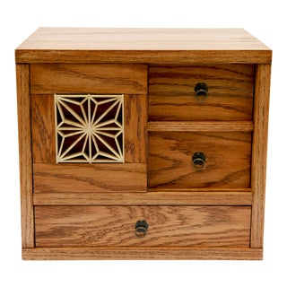 Chest of Drawers Jewelry Box