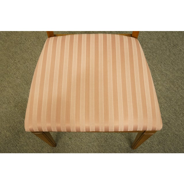 Mid 20th Century Vintage Century Furniture Italian Inspired Dining Side Chair For Sale - Image 5 of 9